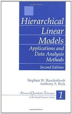 [PDF] Hierarchical Linear Models Applications and Data Analysis Methods 2nd Edit