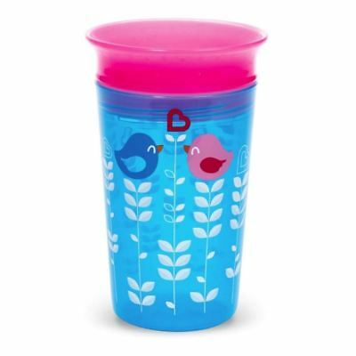 Munchkin Miracle 360 Sippy Cup Blue Birds 266ml 1 2 3 6 12 Packs