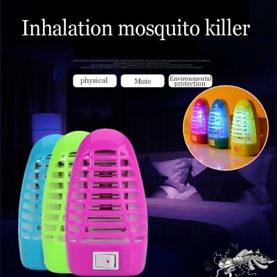 Mosquito Killer Fly Bug Insect Trap Zapper w/ LED Lamp Pest Trap Light UK Plug