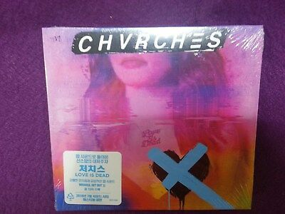 Chvrches / Love Is Dead CD NEW SEALED