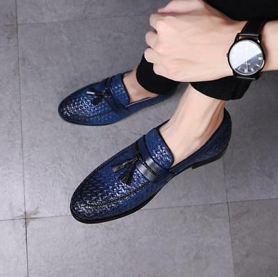 Fashion Mens Slip on Tassel Loafer Smart Office Casual Driving Shoes Size