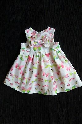 Baby clothes GIRL 0-3m Blue Zoo butterfly,bee,caterpilwhite/pink dress SEE SHOP!