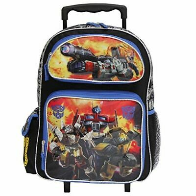 """Transformers 16"""" Inch Large Rolling Backpack - Optimus"""