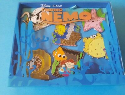 Disney Finding Nemo Box Pin Set 15th Anniversary LE500