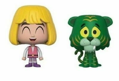 Funko VYNL Masters of the Universe Prince Adam & Cringer 2-pk Vinyl Figures
