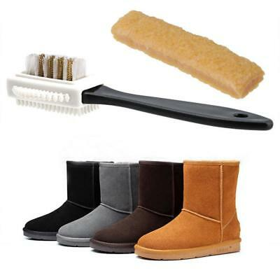 1Set Boot Brush Eraser Shoes Cleaner For Suede Nubuck leather Dirt Remover