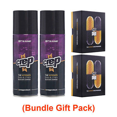 Crep Protect Pill The Ultimate Shoe Freshener and Ultimate Rain & Stain Spray Sn