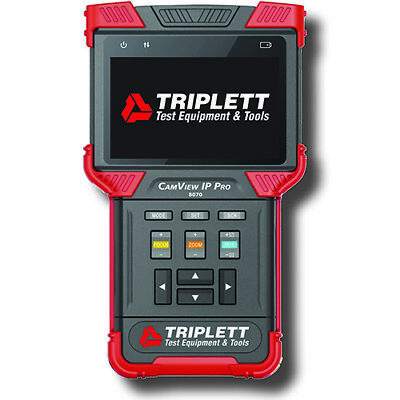 Triplett 8070 CamView IP Pro, Rugged IP & Analog NTSC/PAL Cam Tester