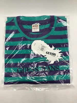4e67550c842 Guess Jeans Sean Wotherspoon Farmers Market Striped T Shirt Multi Color Size  M