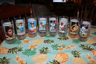 1993 McDonalds Baseball Glasses Set of Eight