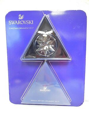New Swarovski Crystal Christmas Ornament 2017 Annual Edition 100% Genuine