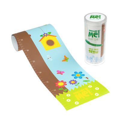 Measure Me! Forest Friends - Children's Roll-Up Nursery Growth Height Chart Owls