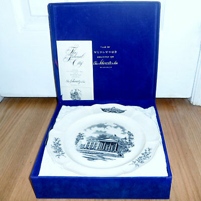 Wedgwood Commemorative Plates Boxed Set of Four The Federal City Collector
