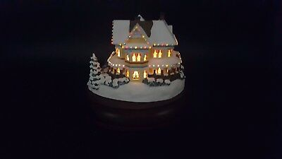 "Thomas Kinkade Victorian Lights ""Homestead"" Hawthorne Village Collection B5556"