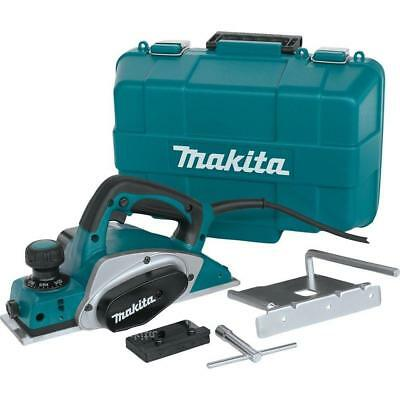 """Makita 3‑1/4"""" Planer with Tool Case 6.5 Amp KP0800K"""