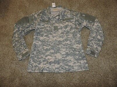 Us Army Combat Coat Medium Long Military Acu Shirt Uniform