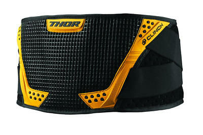 Thor Clinch Support Belt Black/yellow Small/medium
