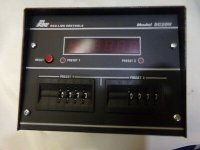 Red Lion Controls Counter Model SC2