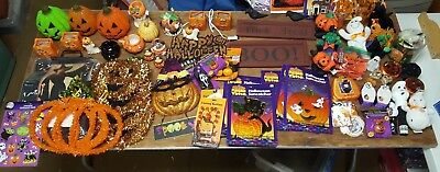 Vintage Wholesale Lot 50+ HALLOWEEN Holiday Figurines Decoration Mixed