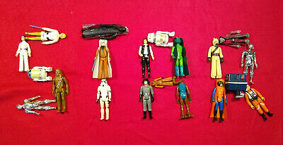Choose Your Own Vintage STAR WARS Action Figures ANH Kenner Original 12 1977 70s