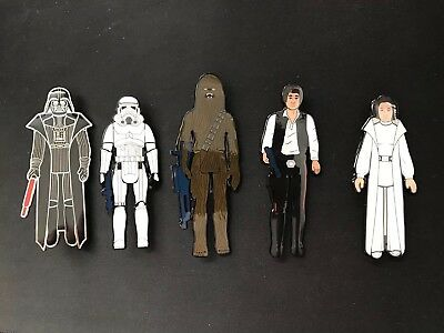 "2018 SDCC Gentle Giant Convention Exclusive Star Wars 3.75"" Enamel Pins Set"