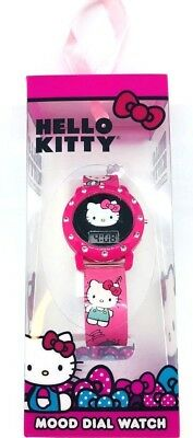 Hello Kitty Mood Dial Watch Kids new sealed in box