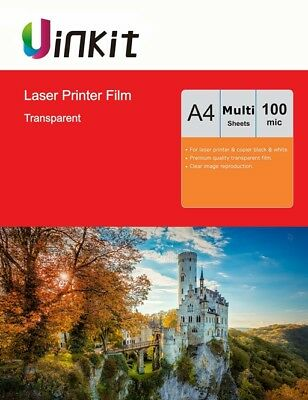 A4 Laser Printing OHP film 100 um Transparent Overhead Projector Film Uinkit