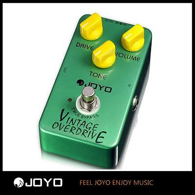 JOYO JF-01 Vintage Overdrive Electric Guitar Effect Pedal with True Bypass