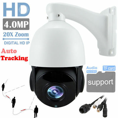 4MP Auto Tracking PTZ IP Kamera Pan Tilt 20X Optischer Zoom Home Security Kamera