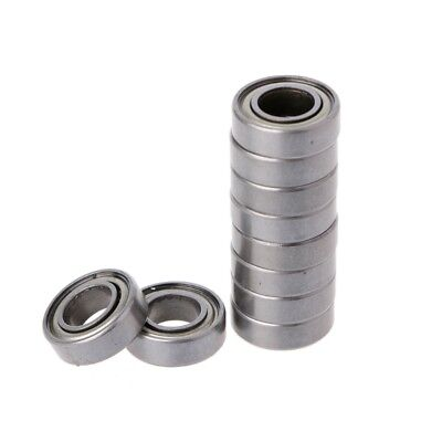 10Pcs F623ZZ Mini Metal Double Shielded Flanged Ball Bearings For 3D printer H/&P