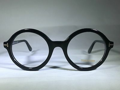 90161dea7d3 NEW TOM FORD Tf 5461 001 Black Eyeglasses Authentic Rx Ft5461 52-22 ...