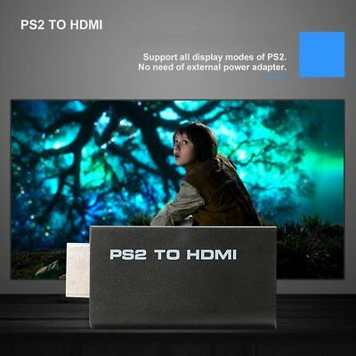 NEW PS2 to HDMI Cable Converter Adapter with Audio Output for HDTV Monitor LOT 7