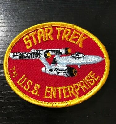 New Star Trek NCC Ship USS Enterprise Embroidered Cloth Patch