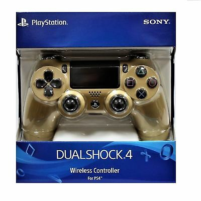 DualShock 4 - Sony PlayStation 4 Wireless Controller - Gold