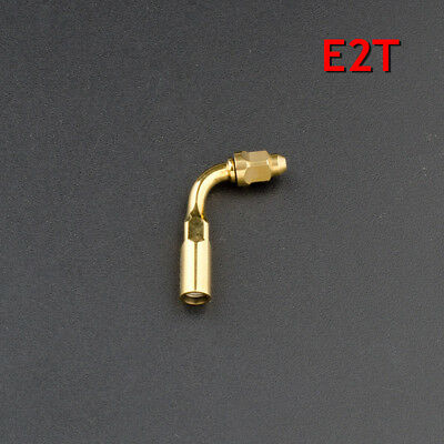 CE Proved Dental Ultrasonic Scaler Endodontics Goldplated Tip E2T Fit Woodpecker