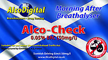 OFFER 50 Alco-Check Scottish Breathalyzers 0.05% BAC (NF-Expired)