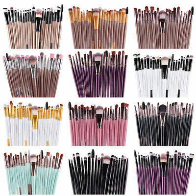 20pcs Makeup Brushes set Cosmetic Make up Brush Powder Foundation Eyeshadow kits