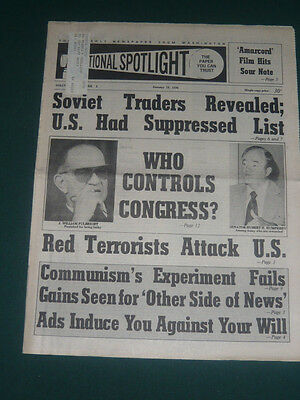 The Spotlight newspaper/Jan 19 1976/Chile Overthrow/Rockefeller Angola