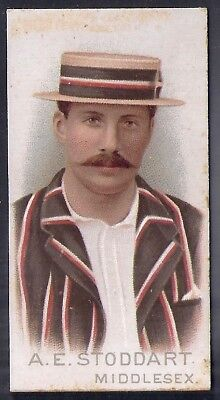 Wills-Cricket Cricketers 1896- Middlesex - Stoddart