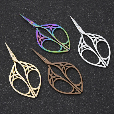 Vintage Tailor Sewing Embroidery Stainless Steel Scissors Handcraft Tool
