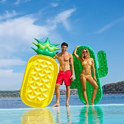 Inflatable Giant Swim Pool Floats Raft Swimming Fun Water Sports Beach Toy Adult