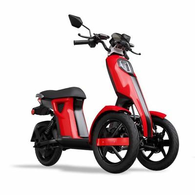 iTango Scooter Electrico Adulto e-scooter Tres ruedas USB Bluetooth 45km/h ROJO