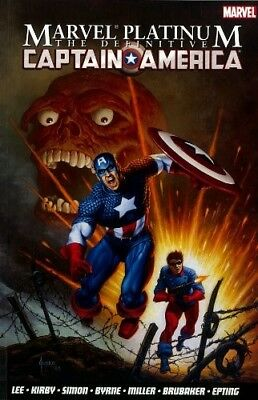 New, Marvel Platinum: The Definitive Captain America, Jack Kirby Stan  Lee, Book