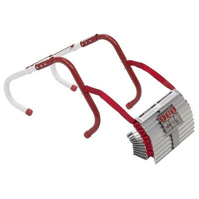 Two Storey Emergency Fire Escape Ladder 13ft Durable Flame Resistant Safety