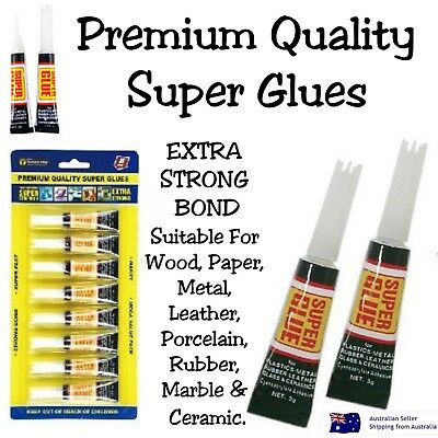 Glue Super Glue Premium Quality Extra Strong Bond Adhesive Plastic Rubber Wood