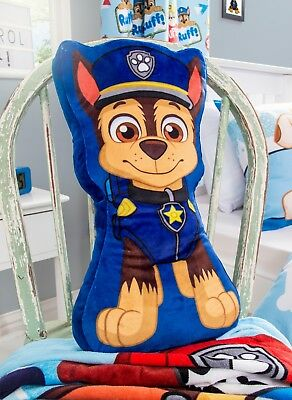 EXTRA LARGE - Paw Patrol Marshall Shaped Cushion Kids Boys Child Travel Pillow
