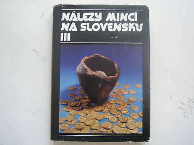 Coin Finds in Slovakia. Celtic. Roman. Medieval. Rare collectable book. Maps.