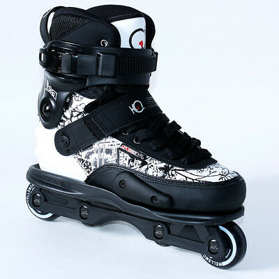 Seba CJ 2 Pro Aggressive Inline Skates - Black/White UK size 9(EU 43)