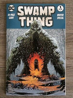 Swamp Thing Winter Special NM