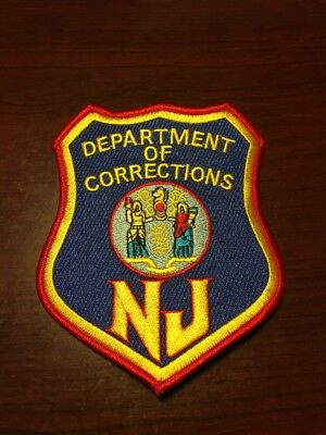 New Jersey Department Of Corrections Patch